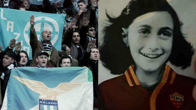 Lazio Anne Frank antisemitism