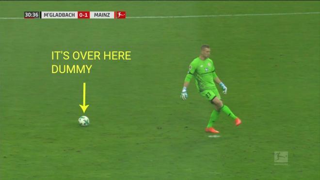 Mainz goalkeeper
