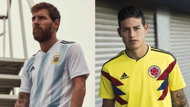 Adidas 2018 World Cup jerseys