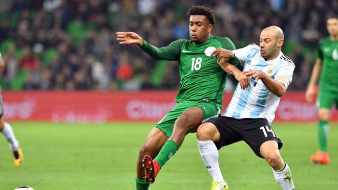 Iwobi goal vs Argentina