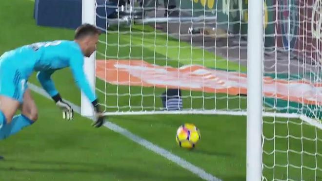 Messi disallowed goal