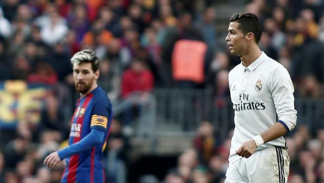 El Clasico Highest Scorers - Messi and Ronaldo