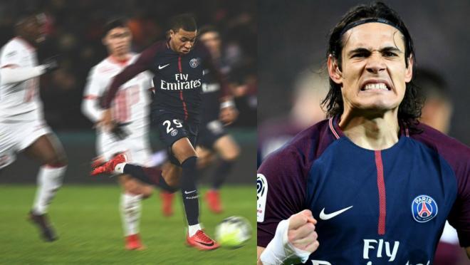 Edinson Cavani goal vs Caen