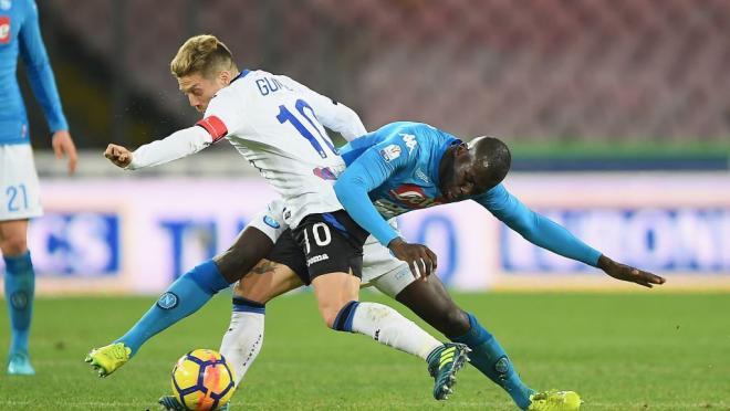 Papu Gomez goal vs Napoli