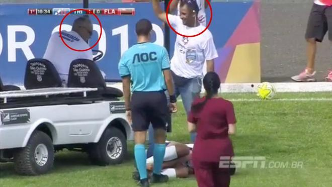 Soccer medical team fail