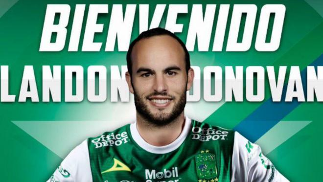 Landon Donovan Comeback with Club Leon
