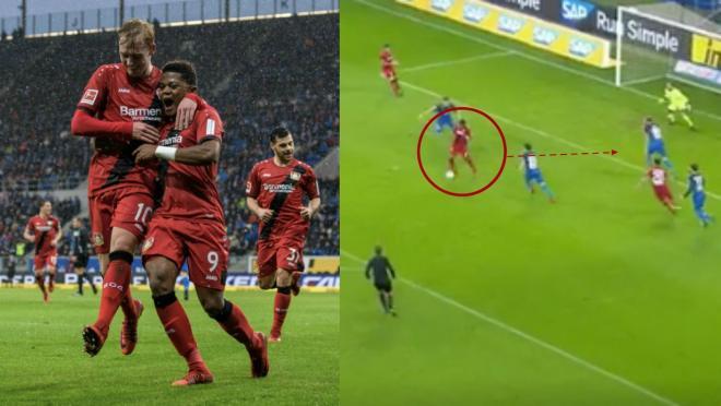 Leon Bailey goal vs Hoffenheim
