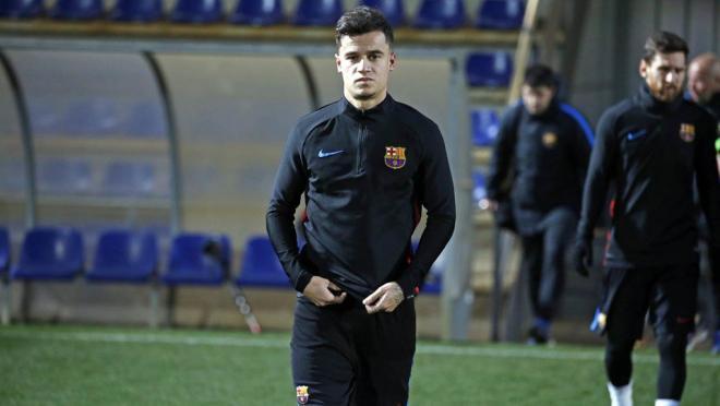 Philippe Coutinho Barcelona debut vs Espanyol
