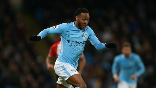 Raheem Sterling Running