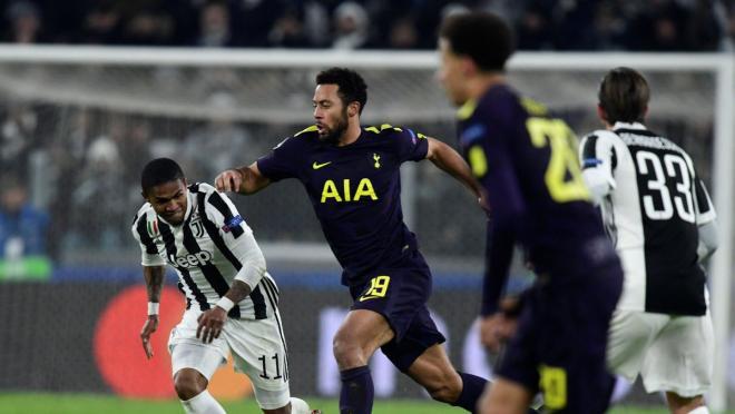 Mousa Dembele vs Juventus