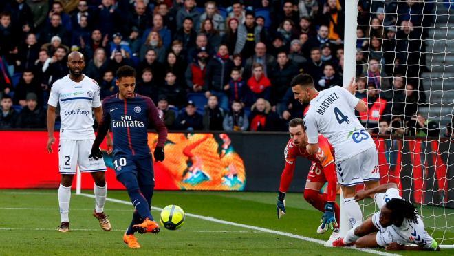 Resumen de regate de Neymar vs Estrasburgo 2018