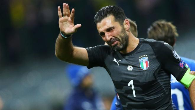 Buffon Italy Return