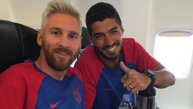 Messi and Suarez