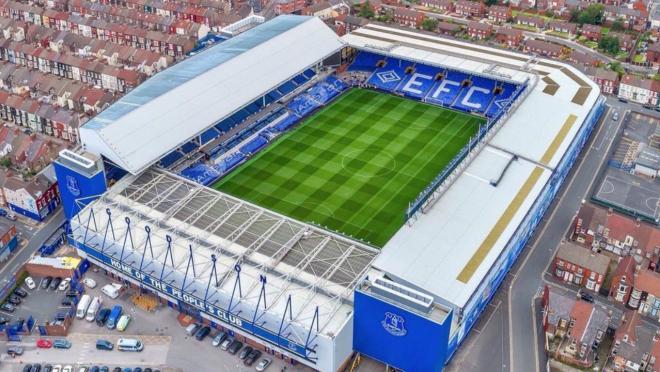 New Everton stadium images