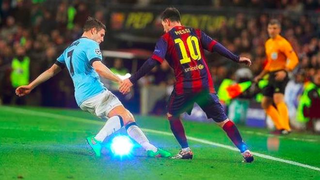 Messi nutmeg