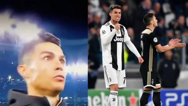 Cristiano Ronaldo goal v Ajax