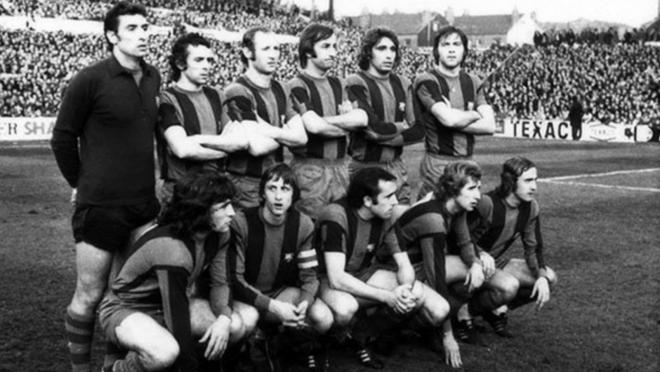 Leeds v Barcelona 1975