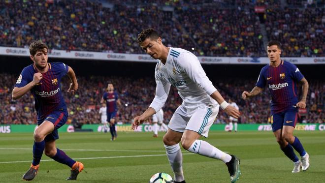 Cristiano Ronaldo goal vs Barcelona