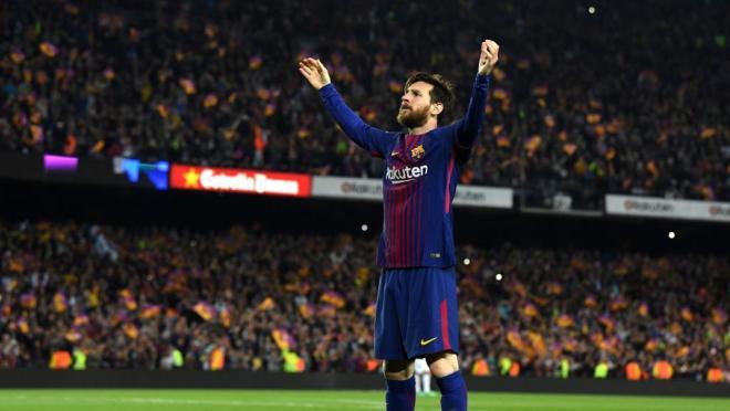 Lionel Messi 2018 El Clasico goal