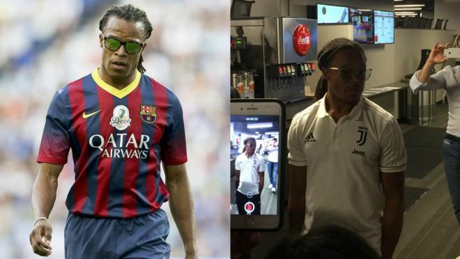 Edgar Davids at Atlanta United match