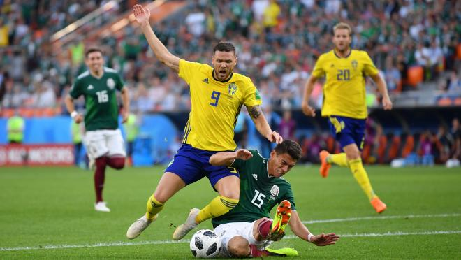 Sweden vs Mexico goals