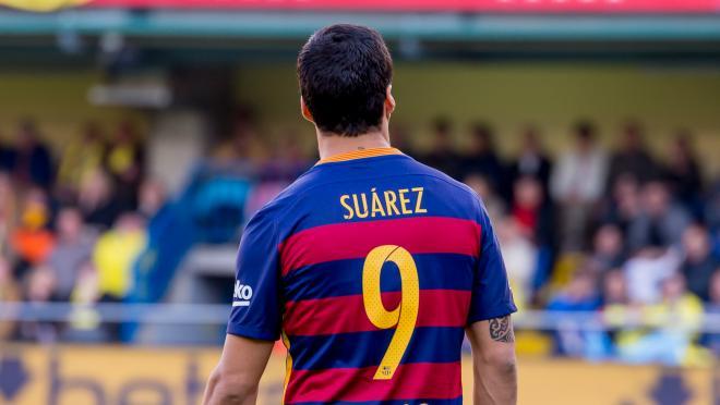 Luis Suarez El Classico Goal
