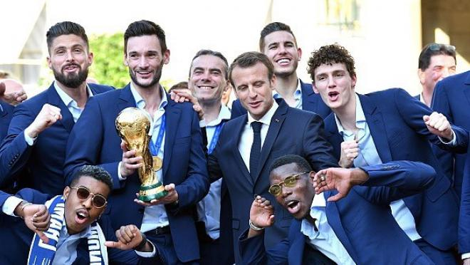 Paul Pogba France World Cup Celebrations