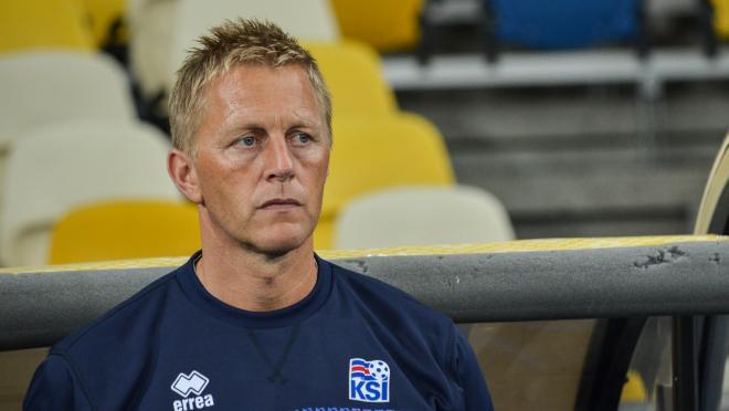 Iceland manager Heimir Hallgrímsson