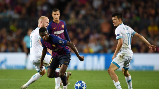 Ousmane Dembele Goal Vs PSV