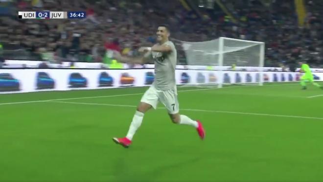Cristiano Ronaldo Goal vs Udinese