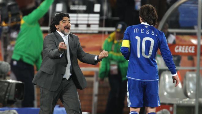 Maradona vs Messi