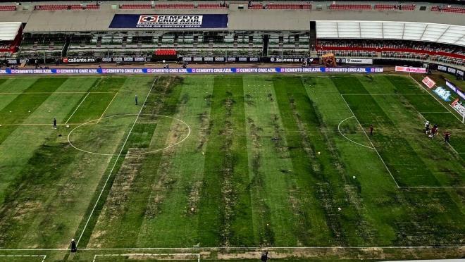 Estadio Azteca field
