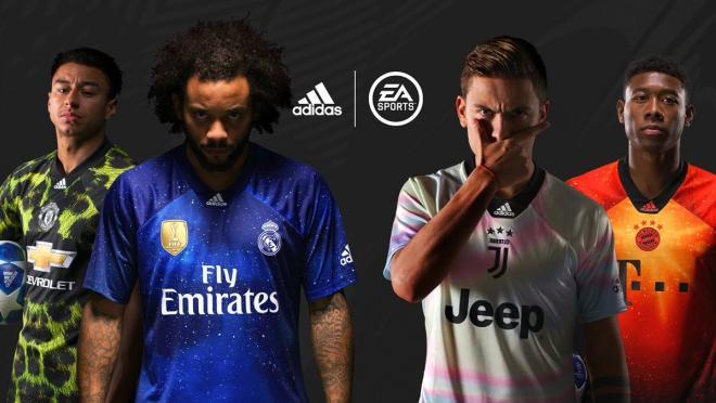 Adidas x EA Sports jerseys