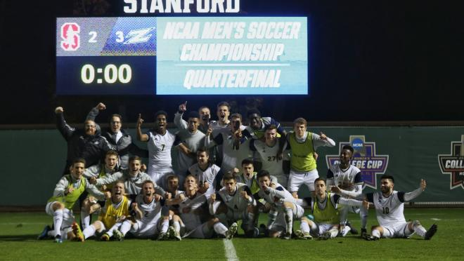 Akron Goal vs Stanford