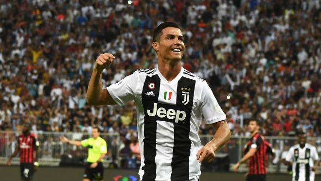 Cristiano Ronaldo Goal vs Milan 2019