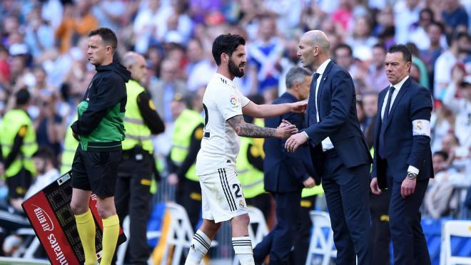 Zidane Real Madrid Lineup