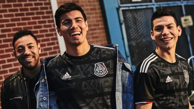 Mexico home jersey 2019 Gold Cup
