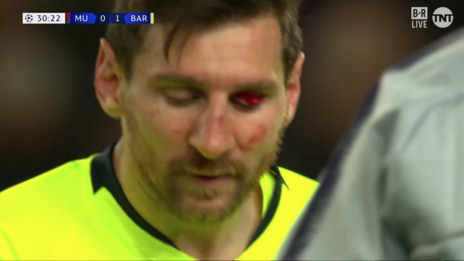 Chris Smalling Lionel Messi