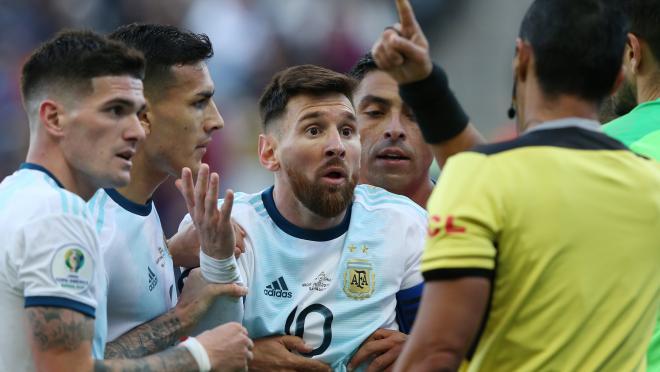 Lionel Messi Ban