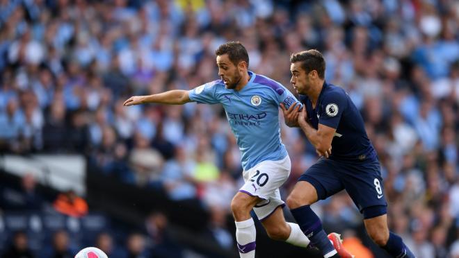Bernardo Silva Skill vs Tottenham