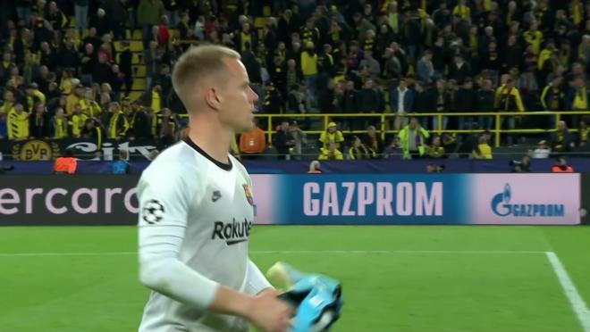 Ter Stegen vs Dortmund