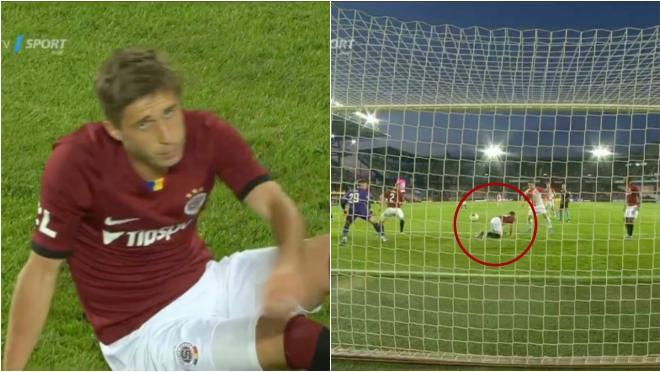 Prague derby butt own goal