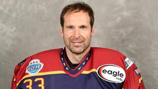Petr Cech hockey career begins
