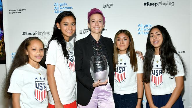 Megan Rapinoe Awards