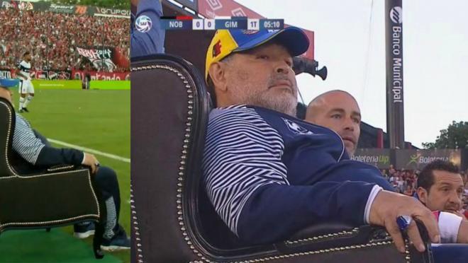 Diego Maradona Throne