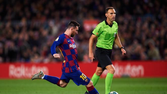 Lionel Messi vs Celta Vigo Hat Trick Highlights Goals