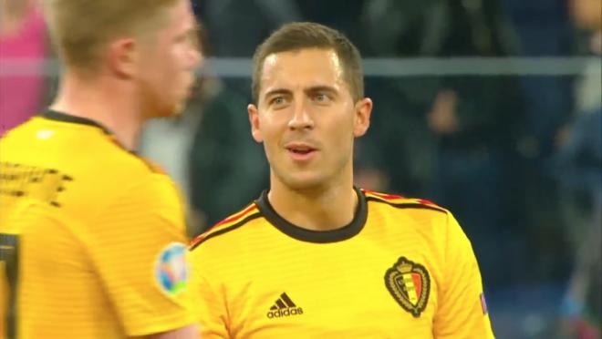 Eden Hazard vs Russia