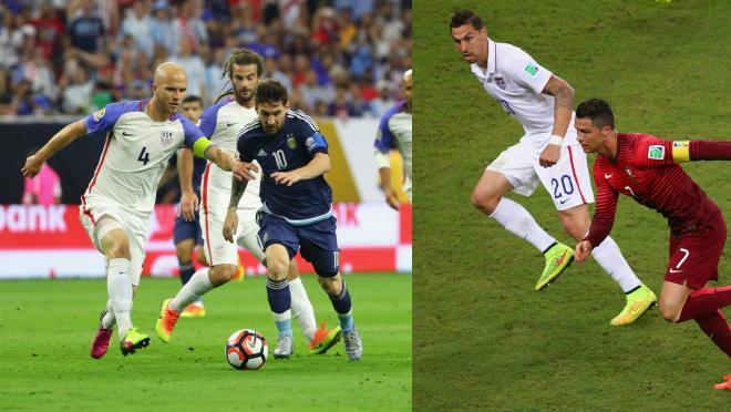 Ronaldo vs Messi vs USMNT