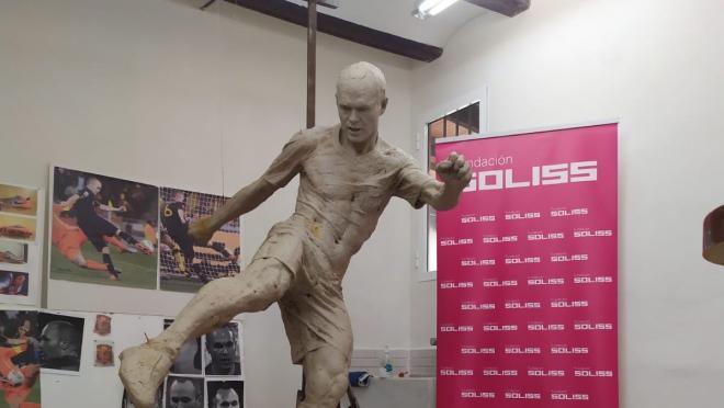Andres Iniesta Statue