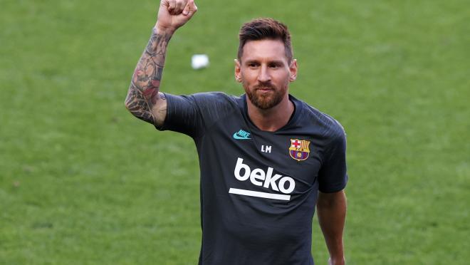 Lionel Messi Fan Reaction